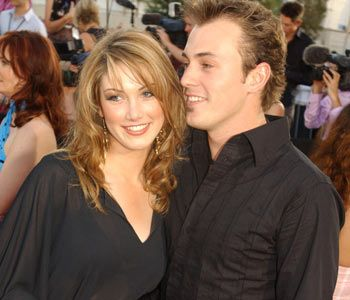 Delta Goodrem  and Blair McDonough