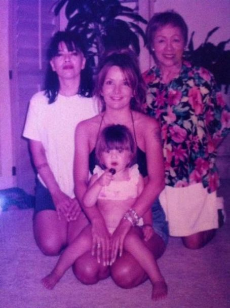 Brie Howard Brandi Brandt with mother Brie and daughter Storm
