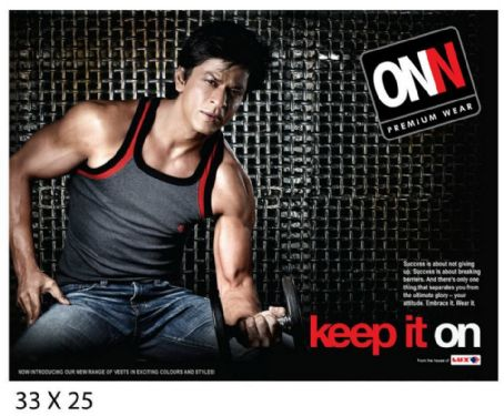 Shah Rukh Khan Lux Cozi ONN Advert Photo Shoots
