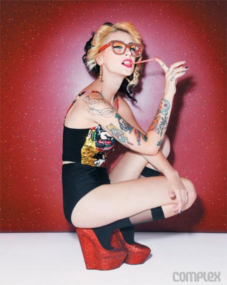 Kreayshawn  - Complex Magazine Pictorial [United States] (October 2011)