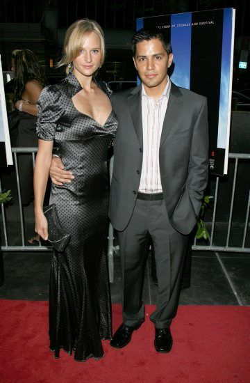 Jay Hernandez  and Daniella Deutscher