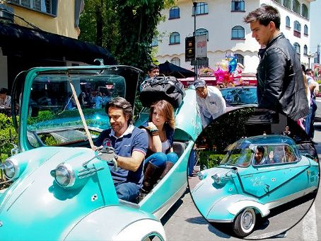 Eugenio Derbez RIDING IN STYLE