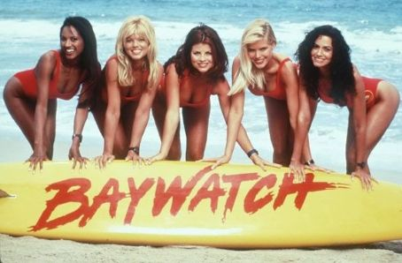 Nancy Valen Baywatch Photoshoot