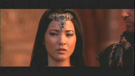 Cassandra Kelly Hu as The Sorceress in Universal's The Scorpion King - 2002