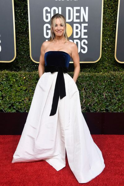 Kaley Cuoco Sweeting - 2019 Golden Globe Awards