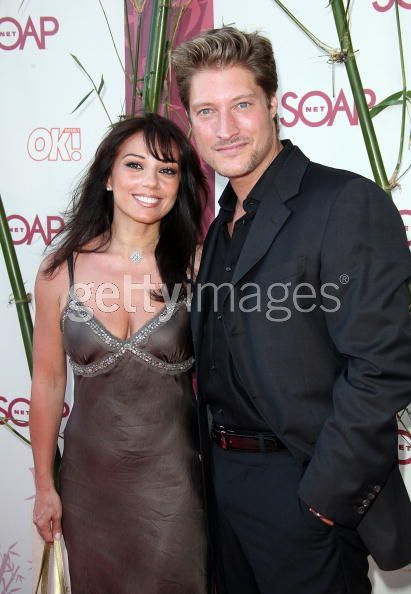 Sean Kanan  and Adriana Verdirosi