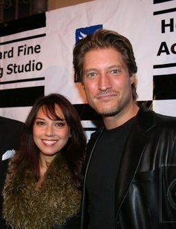 Sean Kanan  and his girlfriend Adriana Verdirosi