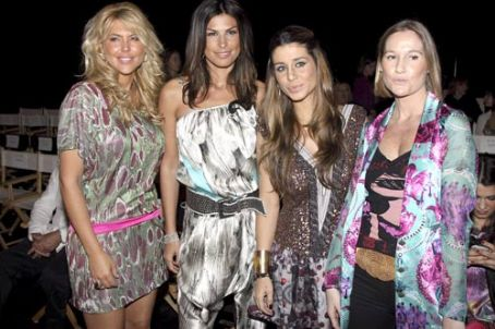 Raquel Perera at the fashion show of Custo Barcelona s/s 2010 in Miami