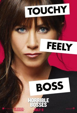Jennifer Aniston in Horrible Bosses Poster (2011)