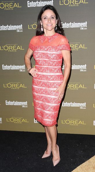 Julia Louis-Dreyfus: attends the 2012 Entertainment Weekly Pre-Emmy Party at the Fig & Olive in West Hollywood