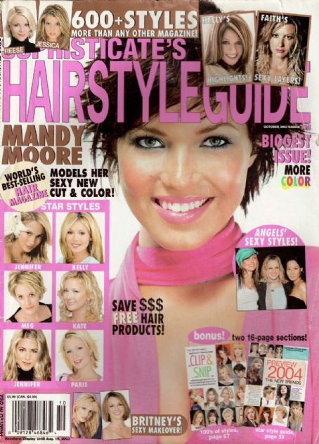 Admirable Mandy Moore Magazine Cover Photos List Of Magazine Covers Short Hairstyles For Black Women Fulllsitofus