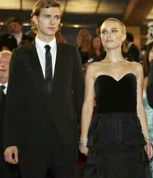 Star Wars: Episode III - Revenge of the Sith Natalie Portman and Hayden Christensen in  - Cannes Premiere (2005)