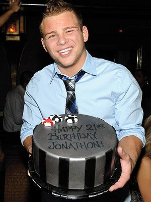 Jonathan Lipnicki Celebrates 21st Birthday in Las Vegas