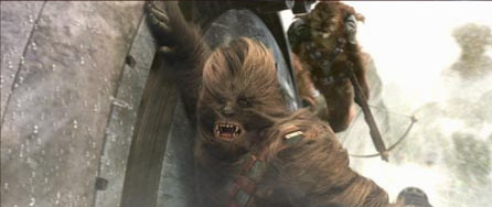 Peter Mayhew Chewbacca () in George Lucas' Star Wars: Episode III - Revenge of the Sith - 2005
