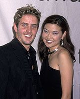 Joey McIntyre  and SuChin Pak