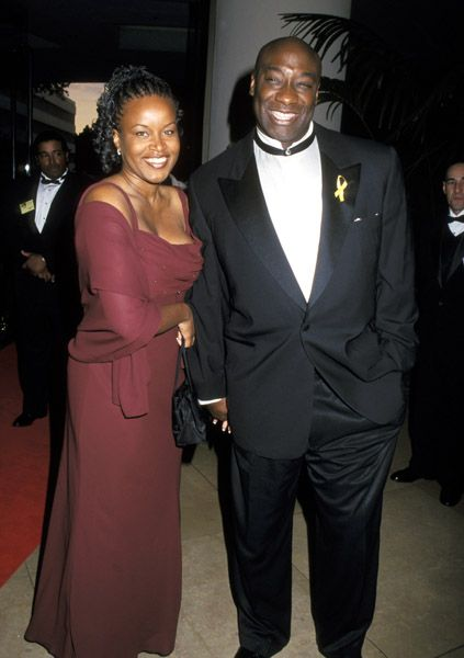 Michael Clarke Duncan  and Alisha Harrison