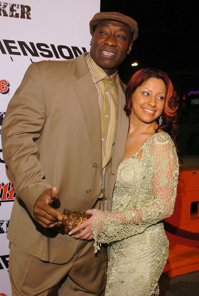Michael Clarke Duncan  and Irene Marquez