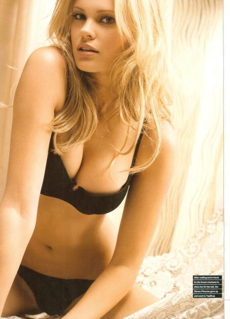 Helen Tucker  - Maxim Magazine Scans - January 2009 Issue