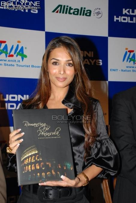 Malaika Arora  - Launch Of 'Romancing The Peninsula' Italian Coffee Table Book