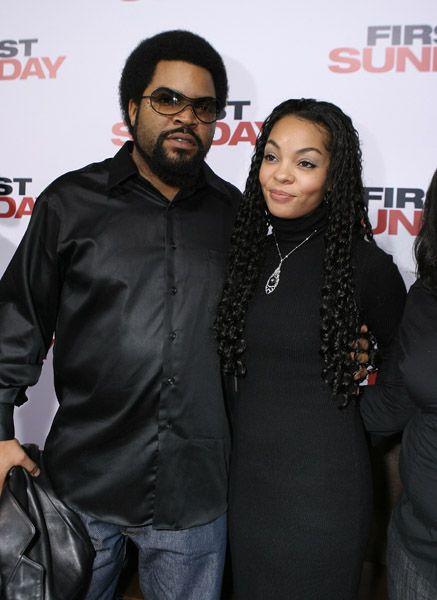 Ice Cube  and Kimberly Woodruff