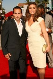 Bianca Kajlich Landon Donovan and