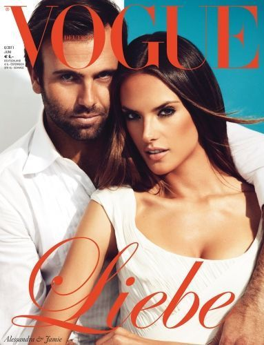 Jamie Mazur, Alessandra Ambrosio - Vogue Magazine Cover [Germany] (3 June 2011)