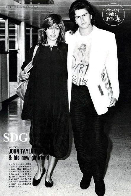 John Taylor and Renée Simonsen