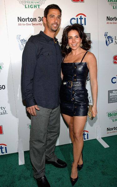 Jorge Posada  and Laura Posada