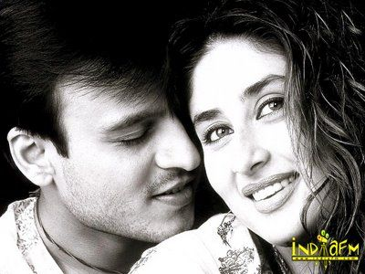Vivek Oberoi  and Kareena Kapoor