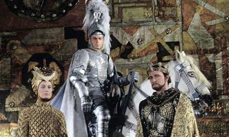 Camelot Vanessa Redgrave and Franco Nero