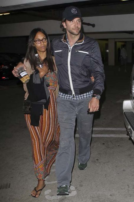 "Bradley Cooper and Zoe Saldana: at the Arclight Dome Theater where they saw ""The Master"""