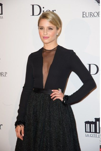 Dianna Agron: at the La Cite Du Cinema launch in Paris