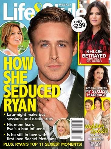 Ryan Gosling - Life & Style Magazine Cover [United States] (30 January 2012)