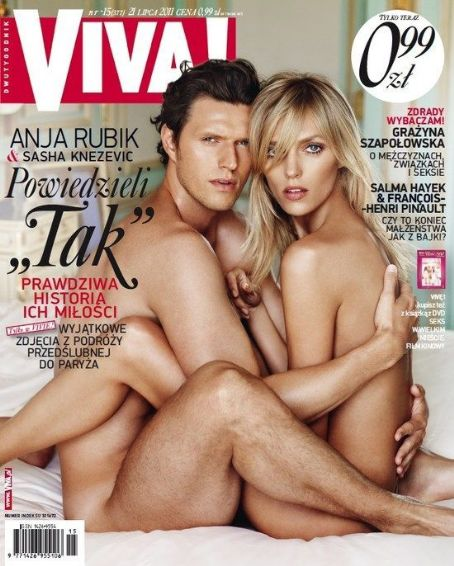 Anja Rubik, Sasha Knezevic - VIVA Magazine Cover [Poland] (21 July 2011)