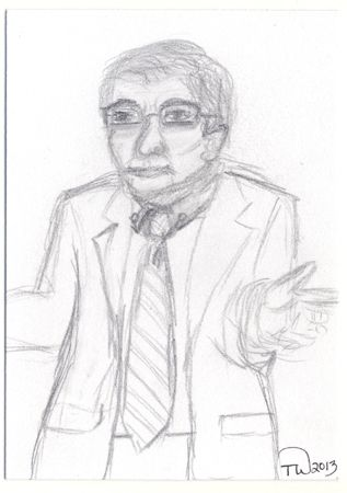 Juan Martinez  Sketch By Tambra