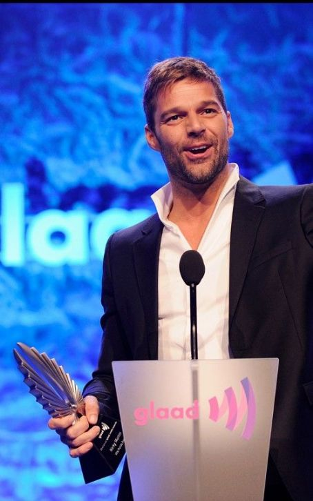 Ricky Martin Honored at the GLAAD Media Awards