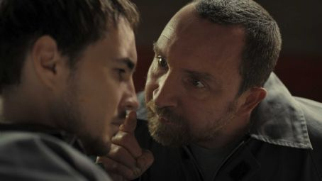 Eddie Marsan Danny (Martin Compston) and Vic () in J Blakeson thriller 'The Disappearance of Alice Creed.'