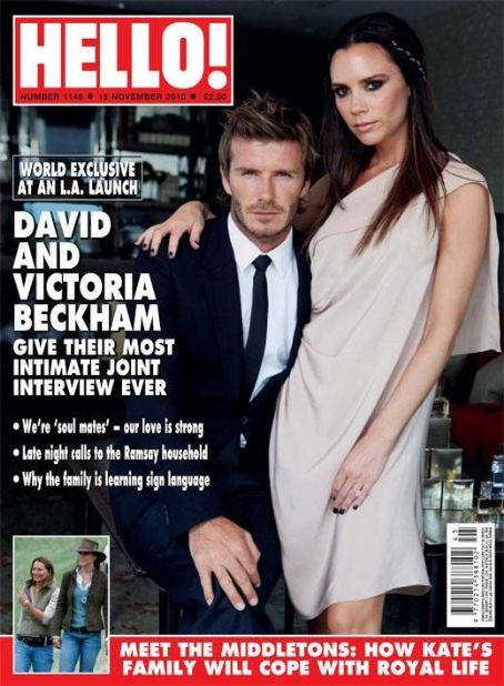 David Beckham - Hello! Magazine [United Kingdom] (15 November 2010)