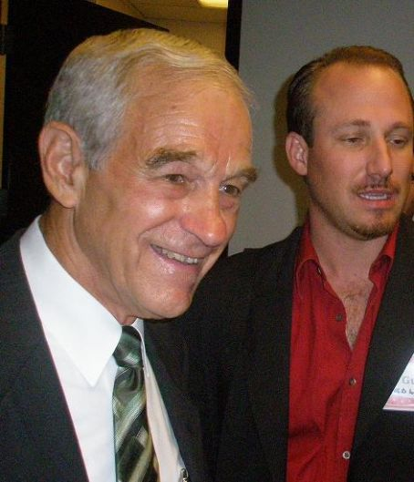 Ron Paul  with Barry Goldwater, Jr.