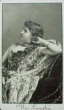 Lily Langtry - Lillie Langtry
