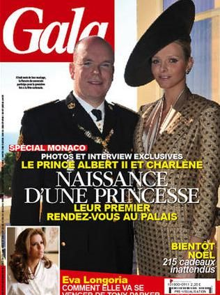 Prince Albert II - Gala Magazine [France] (24 November 2010)