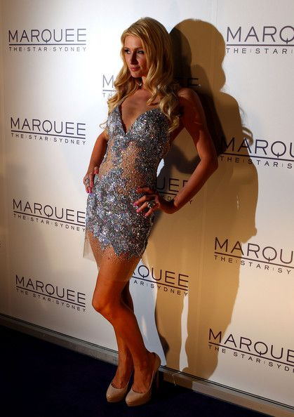 Paris Hilton arrives for the opening of Marquee at The Star on March 30, 2012 in Sydney, Australia