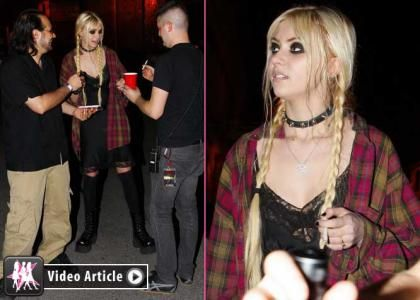 Taylor Momsen's 'Reckless' Night Out