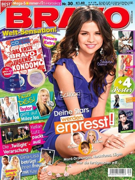 Selena Gomez - Bravo Magazine Cover [Germany] (21 July 2010)