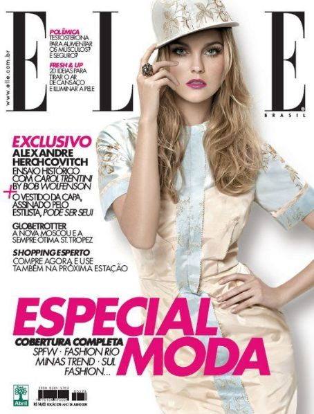 Elle Magazine Cover [Brazil] (July 2011)