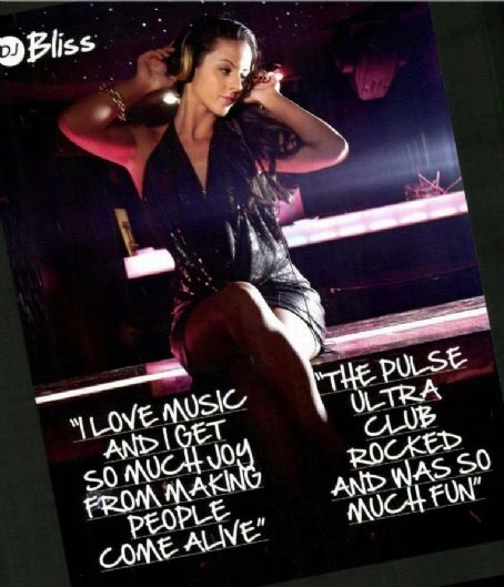 DJ Bliss Dj Bliss Fhm Malaysia May 2012