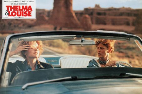 Thelma & Louise Susan Sarandon and Geena Davis in Thelma & Louise (1991)