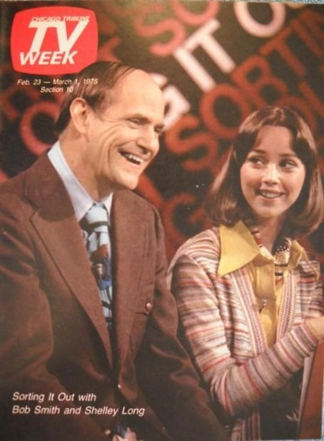 Shelley Long, Bob Smith - TV Week Magazine Cover [United States] (23 February 1975)