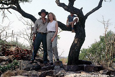 I Dreamed of Africa Kuki Gallmann (Kim Basinger) is a daughter of privilege who moves from Italy to the wilds of Africa with her new husband, Paolo (Vincent Perez, left) and young son Emanuele (Liam Aiken) in Columbia's I Dreamed Of Africa - 2000