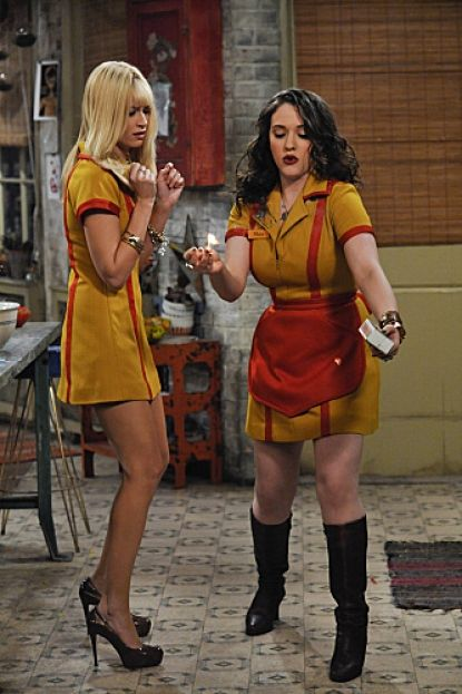 Beth Behrs Nice Uniform!